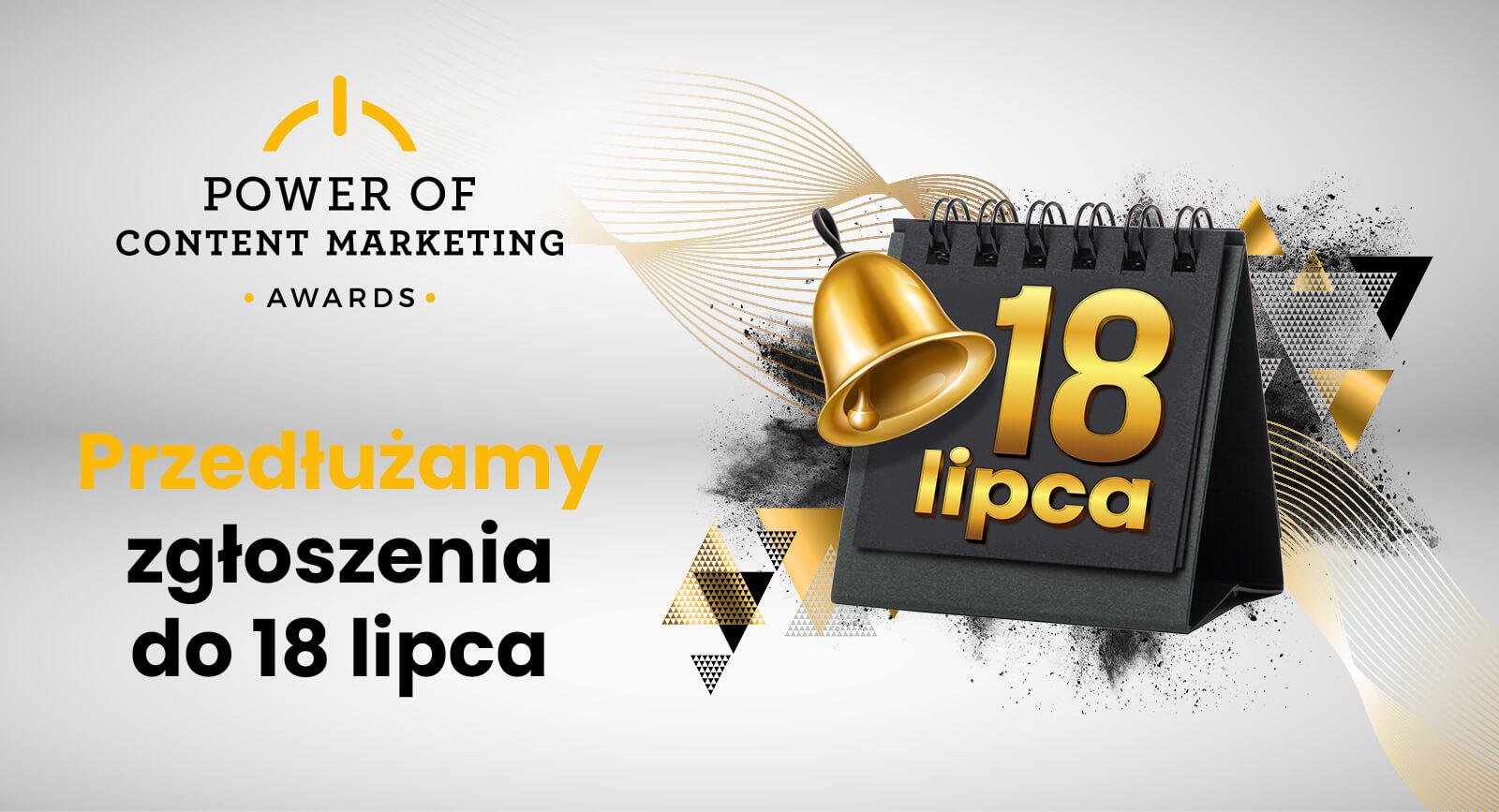 zgłoszenia Power of Content Marketing Awards