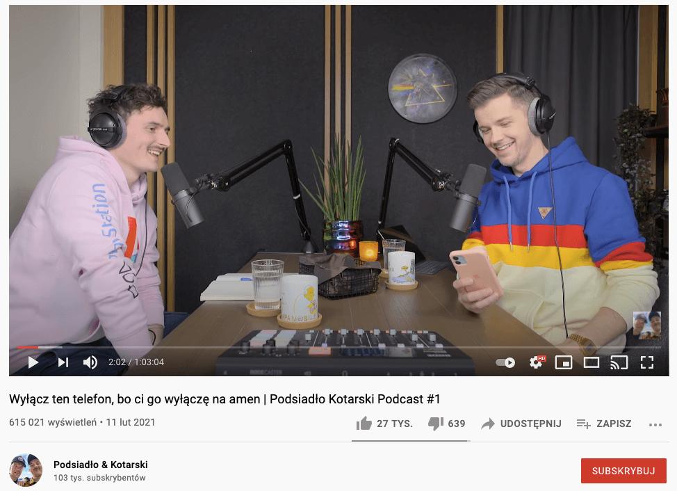 podcast Podsiadło & Kotarski