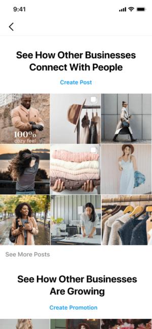 Instagram centrum inspiracji