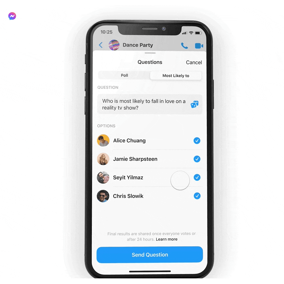 Messenger ankieta