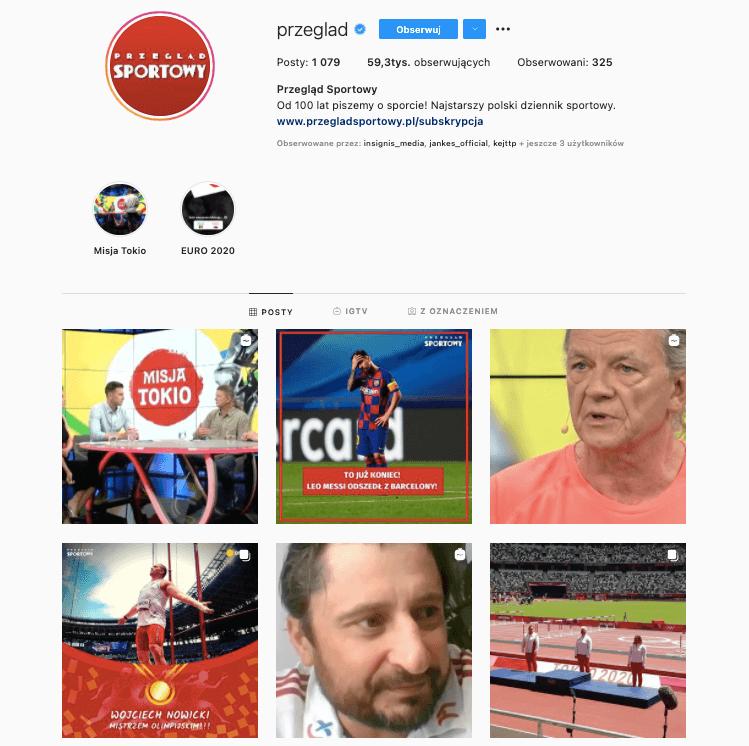 Przeglad Sportowy Instagram