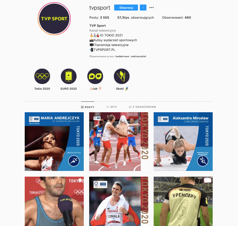 TVP Sport Instagram