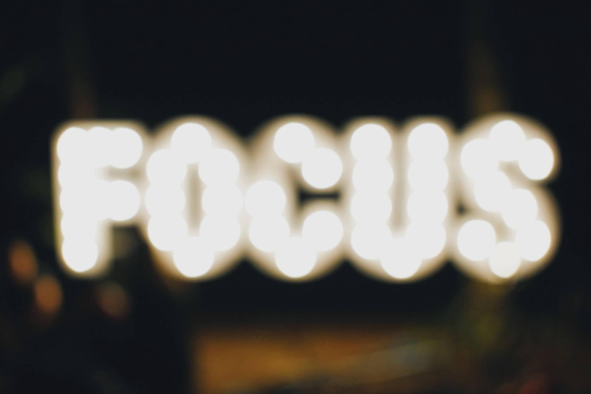 focus skupienie