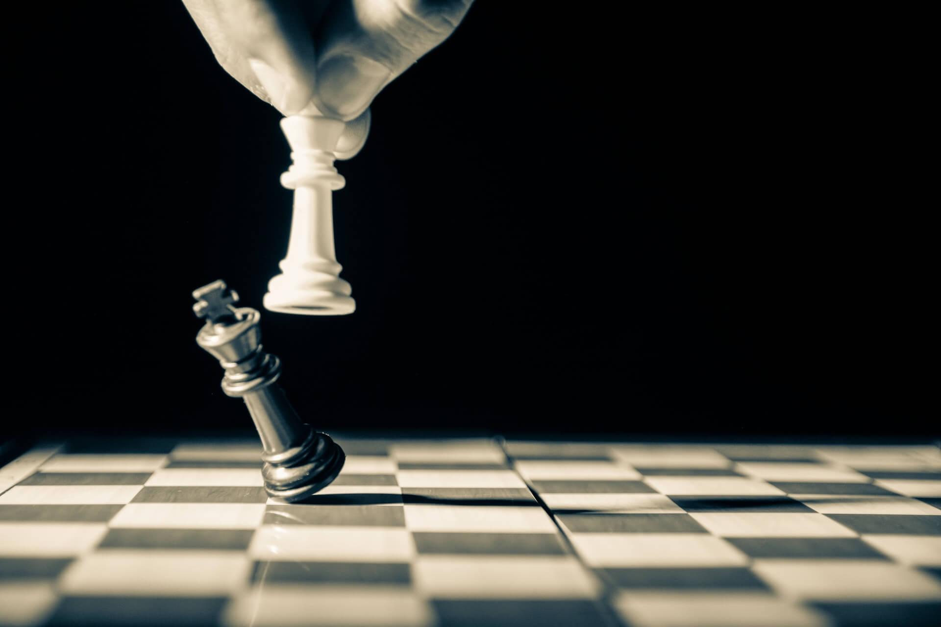 szach mat.